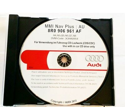 Original Audi MMI Software Update CD 8R0906961AF für Audi MMI High 3G System