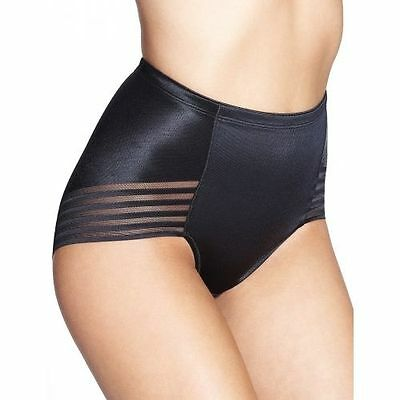 M&S Black Firm Control Shapewear Pants Knickers Briefs UK Size 8 - 22