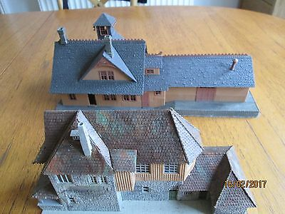 TWO Large OO/Ho gauge buildings in an unusual style