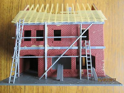 Four buildings and Accessories in OO/Ho Gauge
