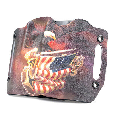 Taurus - OWB Kydex Holster Eagle On Flag
