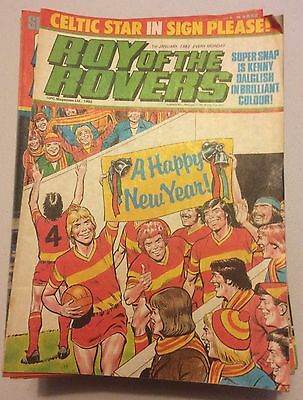 Roy Of The Rovers Comics 1983 x 49