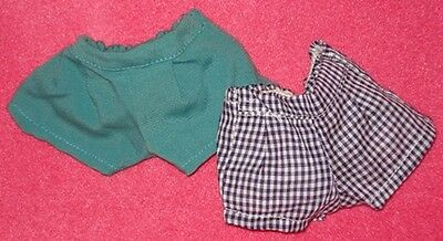 Mint! 2 Vintage 1950s SHORTS WTH TAGS for Tiny Terri Lee