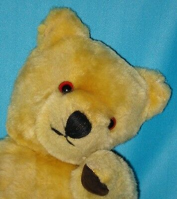 1930s Vintage ENGLISH / AUSTRALIAN Jointed Mohair Bear with Leather Pads