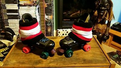 "Bauer ""Mistys""quad rollerskates in a uk size 7."