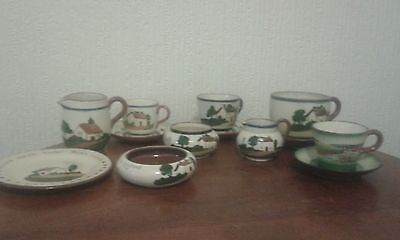Collection Of Watcombe Pottery Devon / Torquay Ware Various Dates