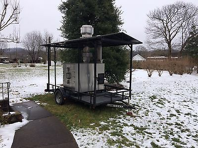 Southern Pride Rotisserie Smoker With Trailer