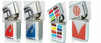 Officially Licensed VW Campervan Windproof Lighters in Gift Tin