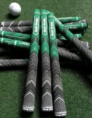 10 Neue Golf Griffe Golf Pride MCC PLUS4 Green Golf Grips -Midsize