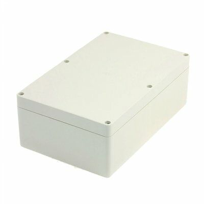uxcell 230mmx150mmx85mm Waterproof Plastic Enclosure Case Power Junction Box