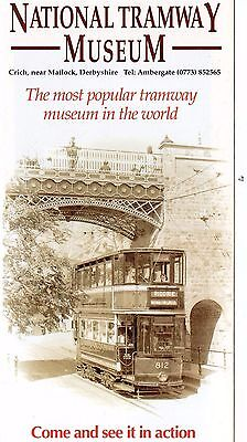National Tramway Museum Leaflet  1992