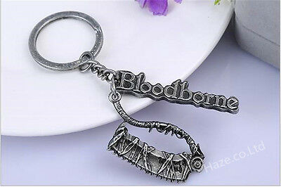 Bloodborne Metal Keychain Key Ring Pendant Limited Collectible Gift