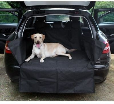 Sakura Heavy Duty Water Resistant Car Boot Liner Mat & Bumper Protector - Black