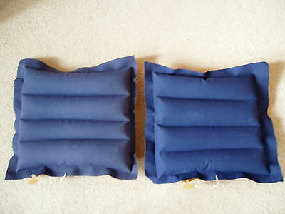 Two Inflatable Camping Pillows - (30cm x 30cm)