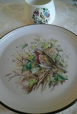 Purbeck pottery plate and Purbeck ceramic bowl