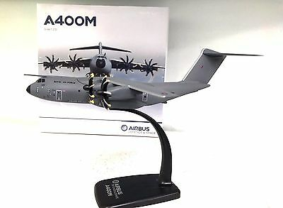 Airbus A400M RAF Royal Air Force plastic desktop model with a stand in 1/200