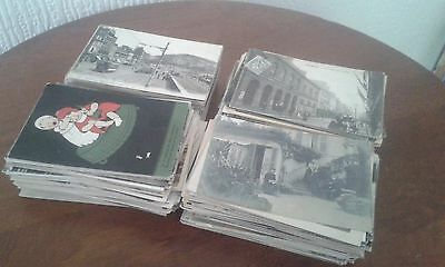 COLLECTION OF 500 POSTCARDS EUROPEAN MOSTLY USED SAME ADDRESSEE, c1899-1920