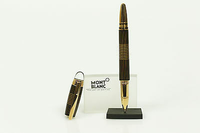 Montblanc Starwalker Red Gold Metal Roller Ball No. 106868 NEU + OVP