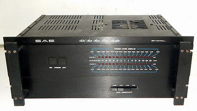 SAE 2400L vintage stereo power amplifier