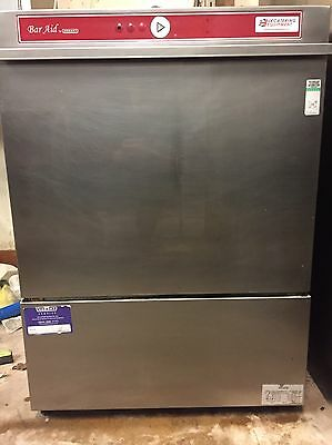£550+VAT. Hobart Bar Aid undercounter Commercial dishwasher, electric, serviced