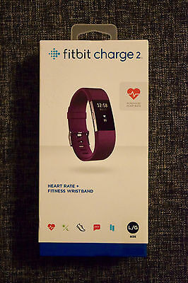 Fitbit Charge 2 Activity Tracker - Large