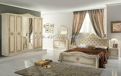 High Quality Italian Full Bedroom Set With Free Delivery