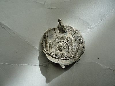 Byzantine Lead Seal Stamp 12Th Century