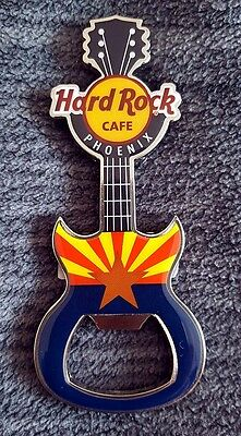 Hard Rock Cafe PHOENIX HRC Flag Guitar Flaschenöffner - 2017 Bottle Opener