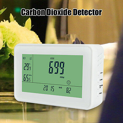 YEH-40 LCD Carbon Dioxide Detector Precise CO2 Meter Gas Tester TVOC Data Logger