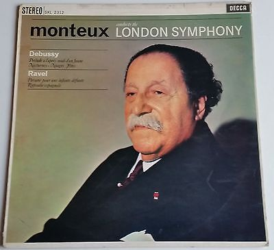 Debussy Ravel Monteux conducts the London Symphony Orchestra DECCA SXL 2312
