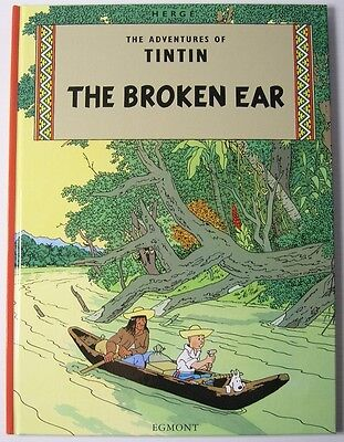 **NEW** - The Broken Ear (The Adventures of Tintin) (Hardcover) 9781405208055