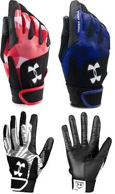 Under Armour Radar WOMEN'S Softball Fastpitch Batting Gloves (Pair), 1265941 NEW