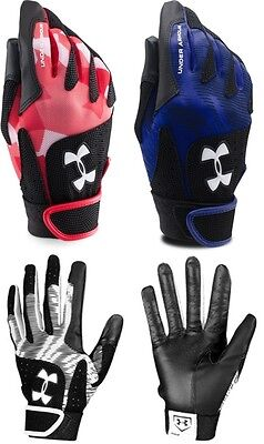 Under Armour Radar Women's adult Softball Fastpitch Batting Gloves, 1265941 NEW!