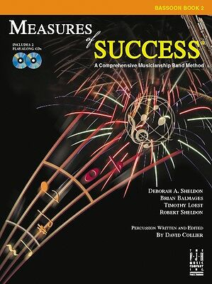 FJH Music Measures of Success® Bassoon Book 2