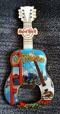 Hard Rock Cafe SAN FRANCISCO HRC wunderschöner Flaschenöffner - Bottle Opener