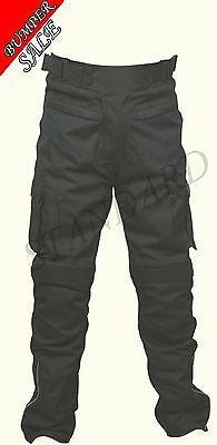 """Motorbike Motorcycle Pants CE Armoured Waterproof Textile Trousers Size 32"""""""