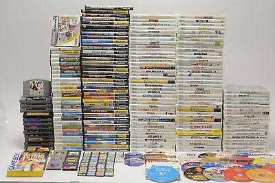 Nintendo Wii, GameCube, 3DS, DS, GBA, N64, GB, SNES and NES Game Lot 240+ Games