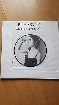 """PJ Harvey 'Send His Love To Me' 7"""" picture disc"""