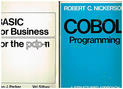 BASIC for Business for the pdp-11 + COBOL Programming + The Mystical Machine 3Bk
