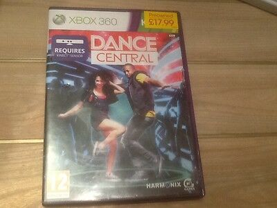 xbox 360 kinect dance central game
