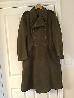 Original Post WW2 British Army Greatcoat size 5 dated 1952