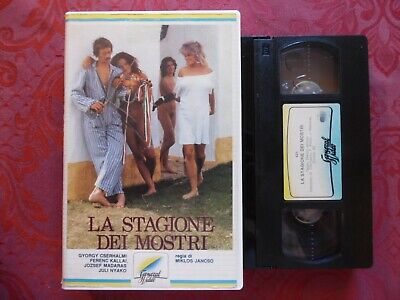 La stagione dei mostri (Ferenc Kallai) - VHS ed. General Video rarissima