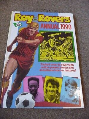 Roy Of The Rovers Annual 1990