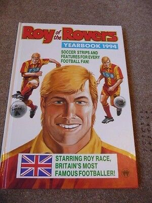 Roy Of The Rovers Annual 1994