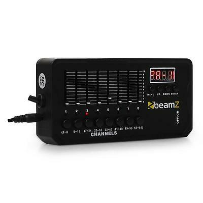 Beamz Mini Dmx-512 Club Dj Stage Light Effects Controller Integrated 9V Battery