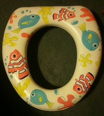 Kids padded toilet seat. Looks like FINDING DORY? From lidl, Toilet training 99p