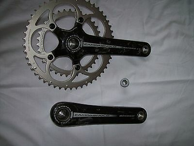 10spd Campagnolo Carbon Ultra Torque System L 175mm 50/36 Chainset