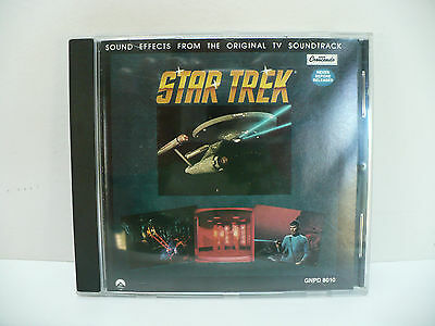 Star Trek Sound Effects From The Original TV Soundtrack Audio CD