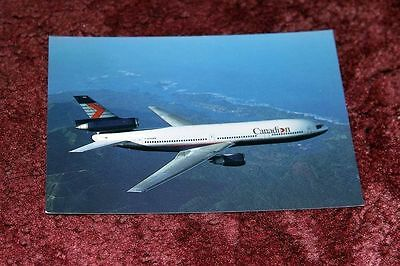 Canadian Airlines International Mcdonnell-Douglas Dc-10 Airline Issue Postcard
