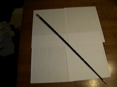 Antique Bakelite and Silver Riding Crop